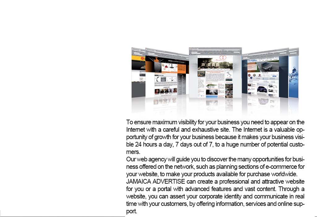 Web Design Agency Jamaica Advertise